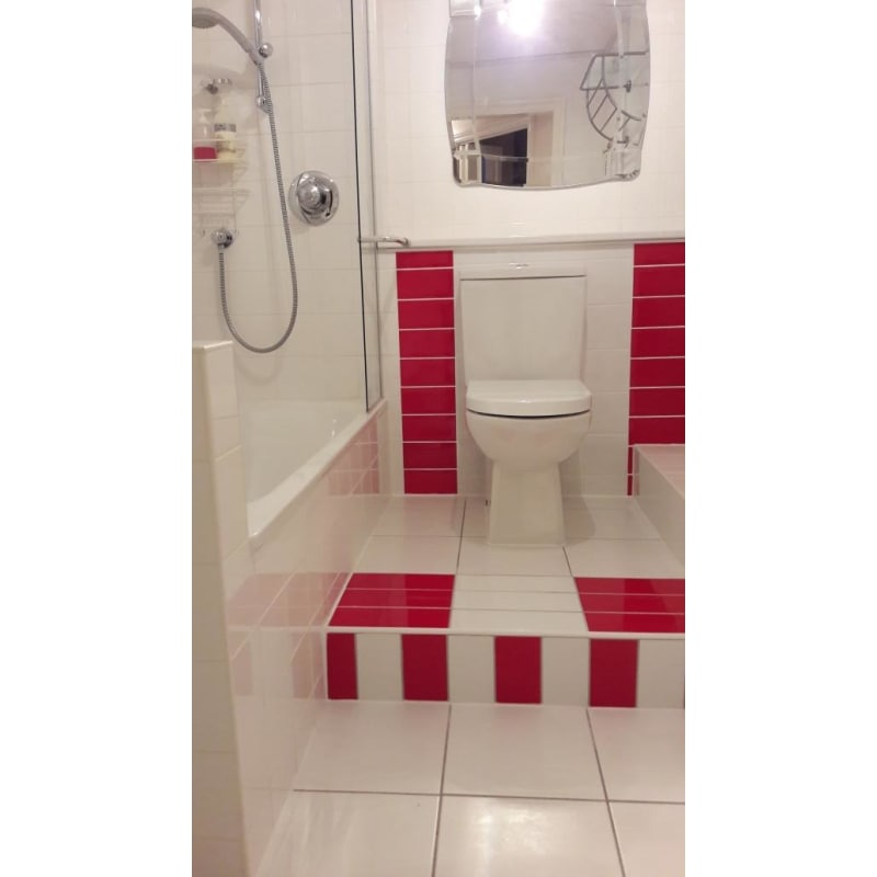 toilet and bathroom tiles fitting