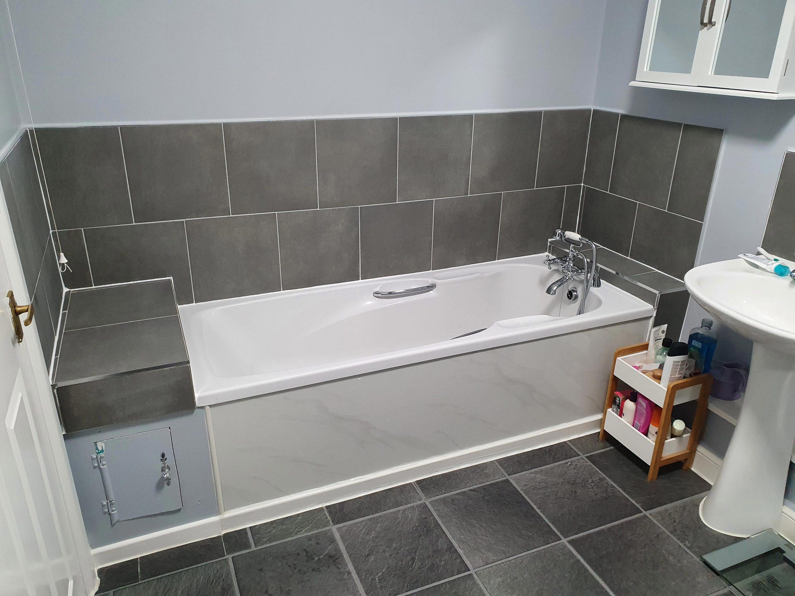 Bath-and-tiles